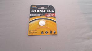 Батарейка для часов. DuracellCR2016 3.0V 70mAh 20x1.6mm. Литиевая