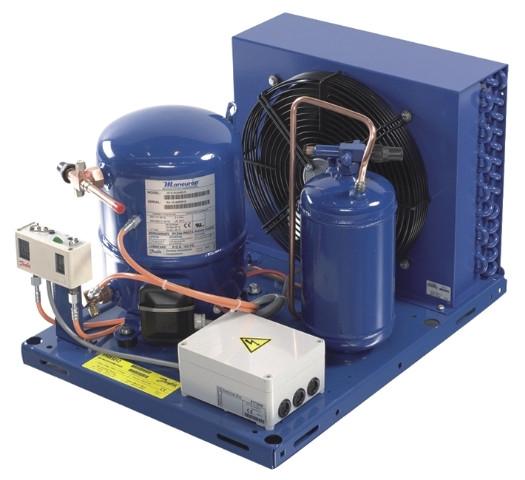 Среднетемпературные холодильные агрегаты DANFOSS OPTIMA