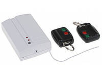 Комплект радиоуправления сигнализацией двухканальный DWB-100-HS ( приёмник + 2 брелока-передатчика)