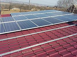 Сонячна електростанція на 28 кВт. м.Чернівці 1