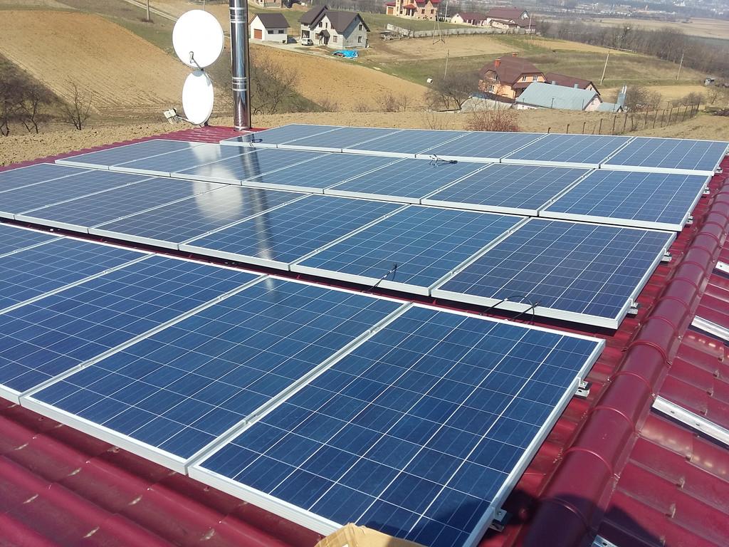 Сонячна електростанція на 28 кВт. м.Чернівці