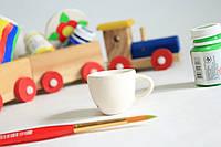 Детская керамическая посуда для росписи Чашка.
