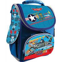 Рюкзак школьный каркасный 1 вересня Planes H-11 551746