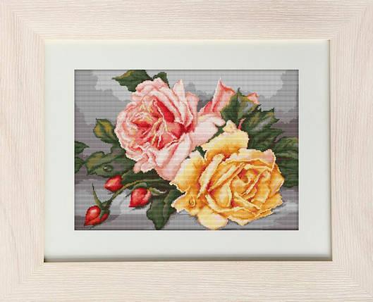 """Набор для вышивания нитками  """"Розы"""", фото 2"""