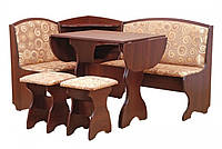 Кухонный уголок Виконт (стол раскладной+диван+2 табурета)