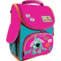 Рюкзак школьный каркасный 1 вересня Fabric Animals H-11 552143