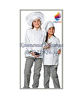 Детская одежда повара (под заказ от 50 шт) с НДС