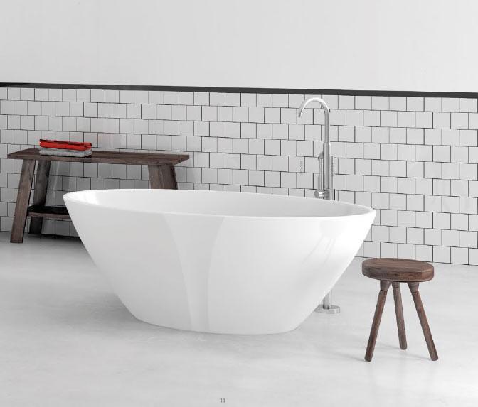 Ванна мраморная Marmorin Selia 1560x840x585
