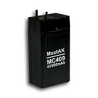 Mastak 4V 900mAh 22*35*65 107г АКБ Герметичный свинцово-кислотный аккумулятор SLA