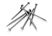 Гвозди строительные 4,0*120 мм, с конической рифленой головкой, фото 1