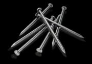 Гвозди строительные 1,2*16 мм, с конической рифленой головкой