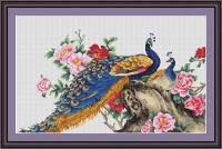 """Набор для вышивания нитками  """"Два павлина"""", фото 2"""