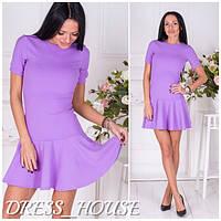 Женское сиреневое платье OS-188