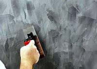 Нанесение на стены декоративной штукатурки