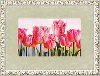 """Набор для вышивания крестом """"Розовые тюльпаны"""""""