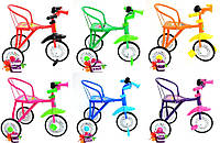 Трехколесный велосипед Profi Trike со стальной рамой: 6 цветов