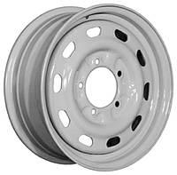 Стальные диски Кременчуг ГАЗ 2217 (Соболь) R16 W6.5 PCD5x139.7 ET45 DIA108.5 (белый)