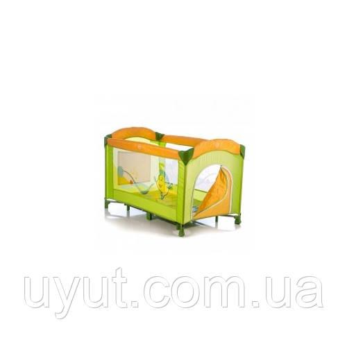Манеж Mioo M190 Green Funny Fish (зеленый-оранжевый)