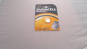 Батарейка для часов. Duracell CR1616 3.0V 55mAh 16x1.6mm. Литиевая