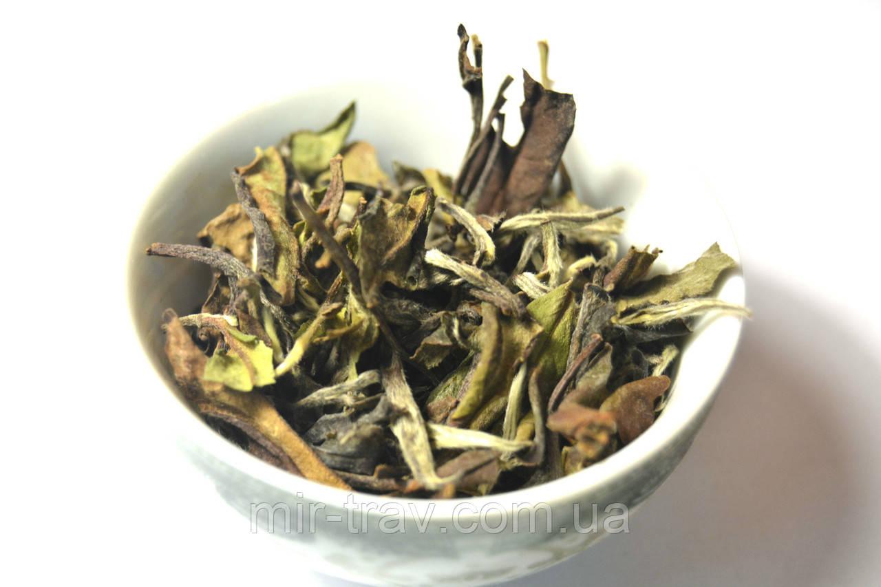 Бай Мудань 100 г белый чай (белый пион)