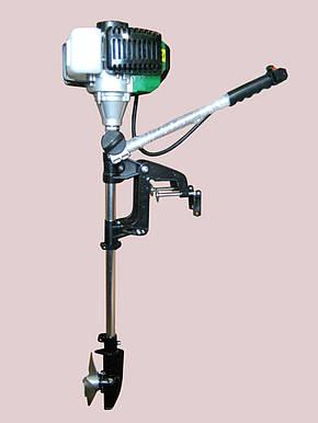 Лодочный мотор взборе 2-х тактный 3.7кВт, фото 2
