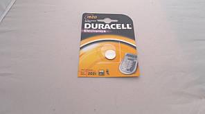 Батарейка для часов. DuracellCR1620 3.0V 68mAh 16x2.0mm. Литиевая