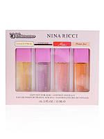 Подарочный набор с феромонами Nina Ricci - 4шт по 15мл ABD
