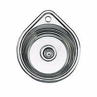 Кухонная мойка  из нержавеющей стали  ULA (УЛА)HB 4450 ZS, polish
