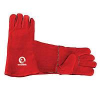 Перчатка замшевая INTERTOOL SP-0156