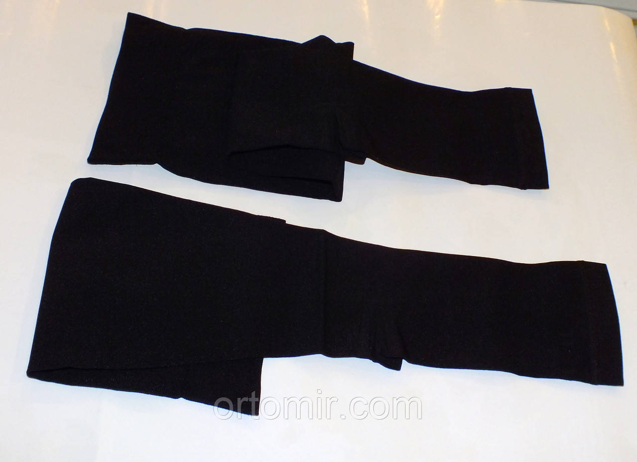 Гольфы компрессионные  мужские 2кл.  открытый носок. черные