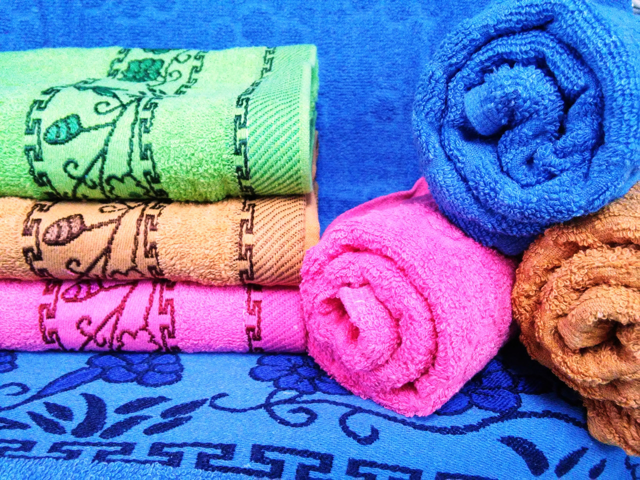 Полотенце  махровое для лица Вьюнок