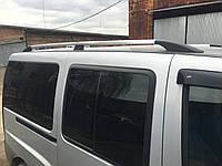 Fiat Doblo Рейлинги с металлическими ножками Хром