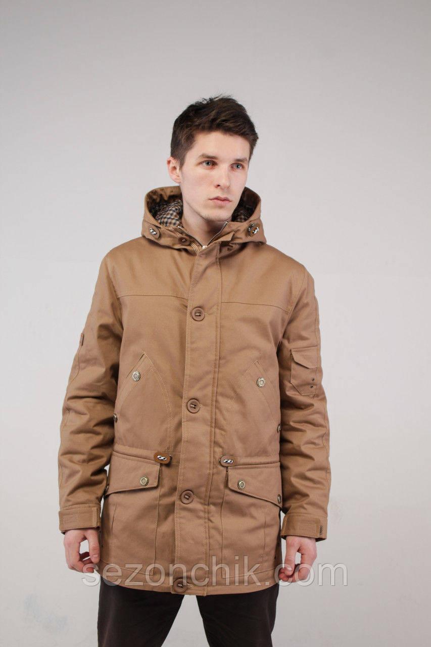 Весенняя мужская куртка парка