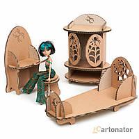 Кукольная мебель для спальни «Spider eggs», Cartonator