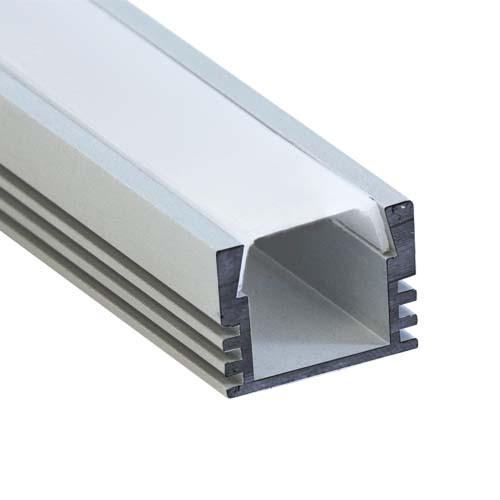 Профиль для светодиодной ленты Feron CAB261 (накладной высокий).