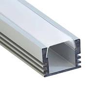 Профиль для светодиодной ленты Feron CAB261 (накладной высокий)., фото 1