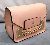 Сумка клатч через плечо нежно- розовый