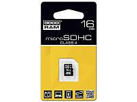 Карта памяти micro-SD HC 16GB GOODRAM (class 4) без адаптера
