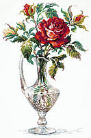 """Набор для вышивания крестом """" Красная роза"""""""