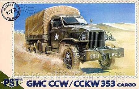 Грузовой автомобиль GMC CCW  \ CCKW 353          1\72         PST 72044