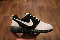 Женские кроссовки Nike Roshe Black/White (36-44 Размер) В Наличии 6 расцветок