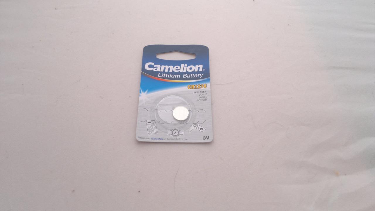 Часовая батарейка Camelion CR1216
