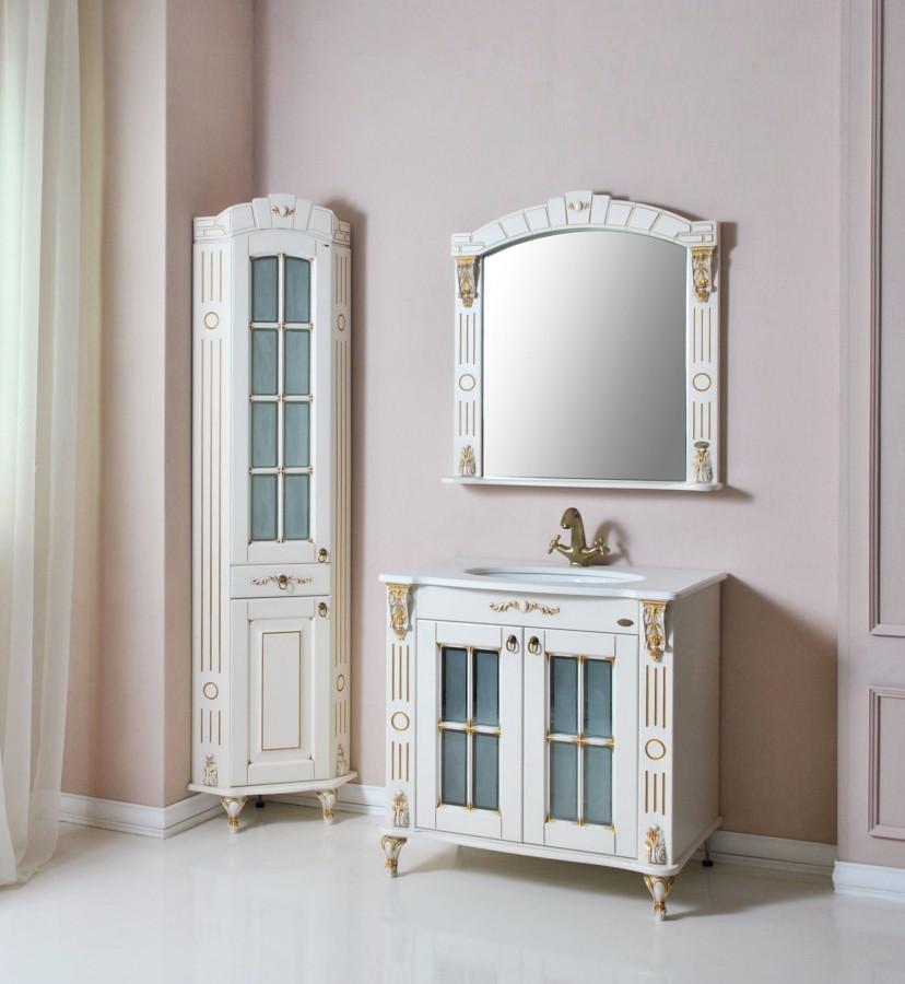 Комплект мебели Ольвия (Атолл) Александрия  85 dorato (золото)