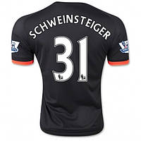 Футбольная форма Манчестер Юнайтед Швайнштайгер 2015-2016 выездная