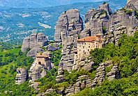 "Пазлы ""Castorland"" 2000шт (200306) 92*68 см (Монастырь Греция)"