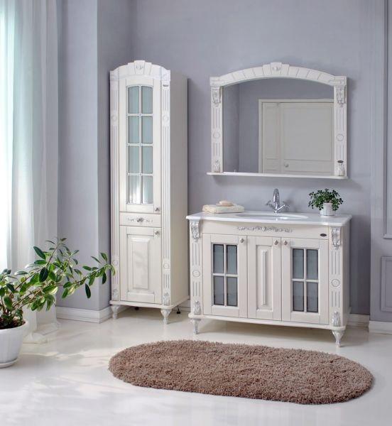 Комплект мебели Ольвия (Атолл) Александрия слоновая кость камень 100