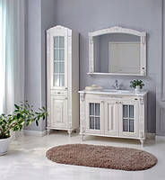 Комплект мебели Атолл Александрия слоновая кость камень 100