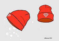 Пошив изготовление детских трикотажных шапок под заказ оптом