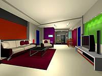 Дизайн интерьера в стиле Хай -Тек