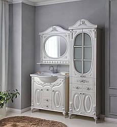 Комплект мебели Ольвия (Атолл) Наполеон-85 белый жемчуг